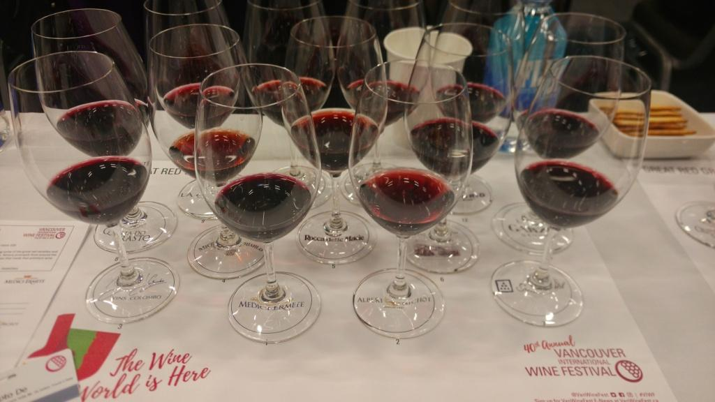 Great Red Grapes session at Vancouver International Wine Festival