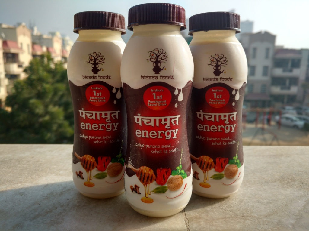 Try out the Panchamrit milk from Bidada