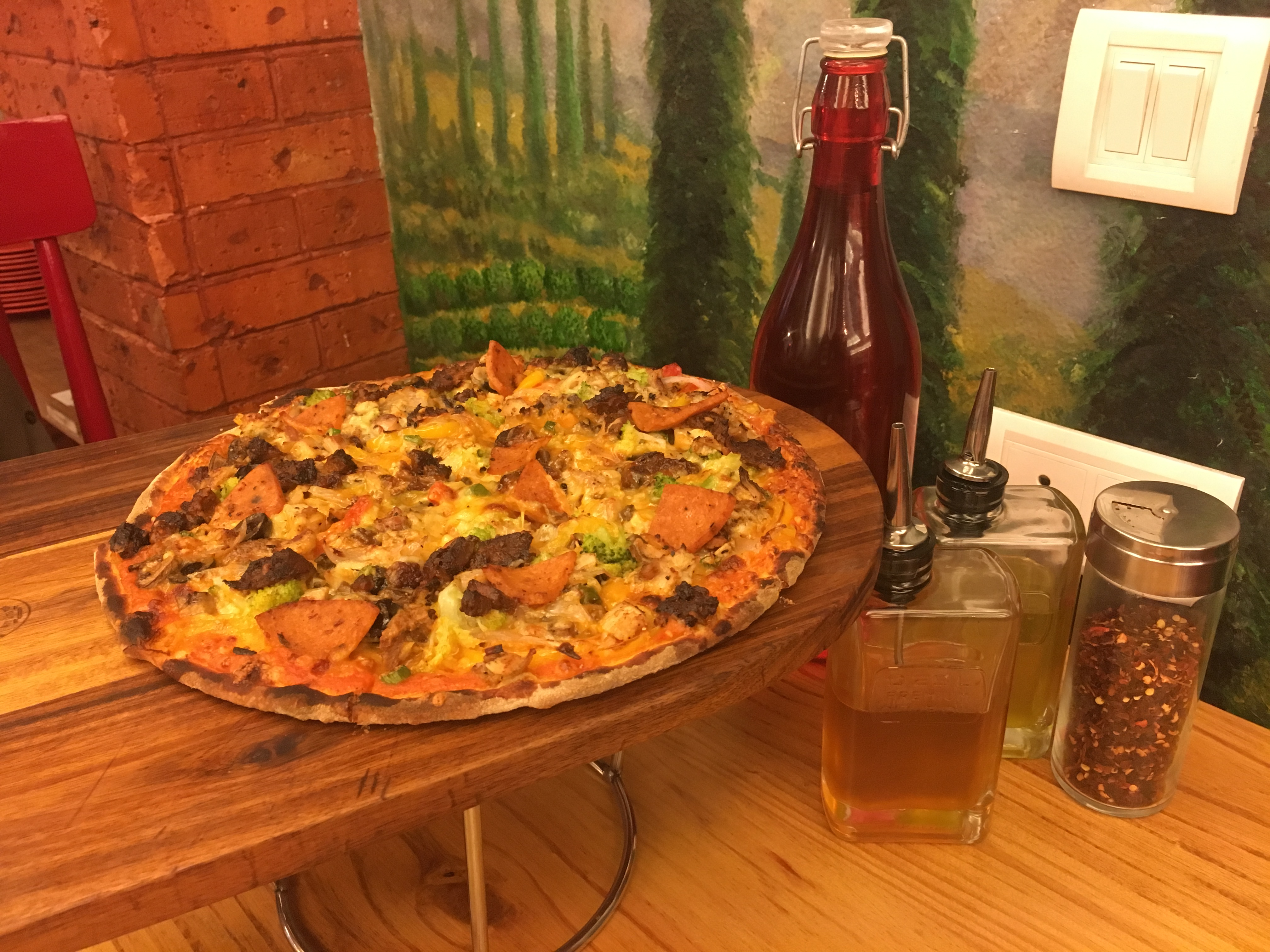 Customized your own wood-fired pizzas at 1441 Pizzeria!