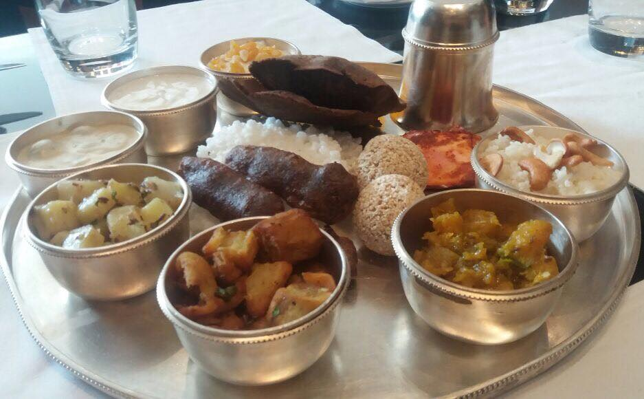 ITS A FEAST AFTER THE FAST NAVARATRI THALI at NYC