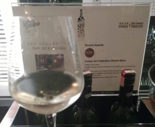 Grover Zampa Chenin Blanc wine review and food pairing
