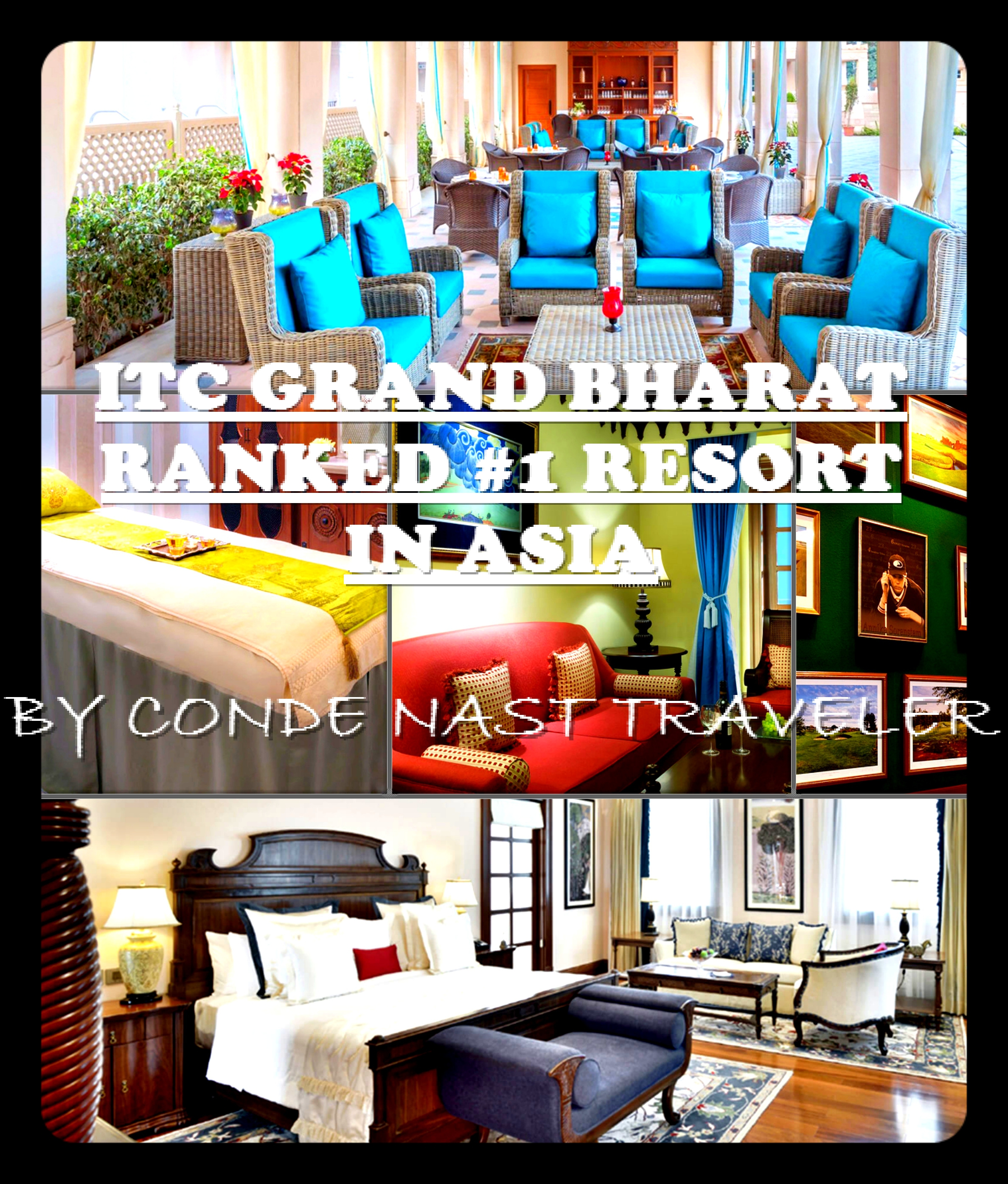 ITC Grand Bharat wins Best Resort in Asia from Conde Nast USA