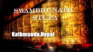 Swambhunath Stupa at Kathmandu, Nepal