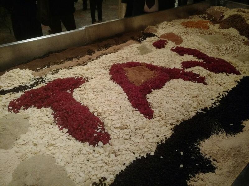 Cake Mixing at The Taj Mahal Hotel, Mansingh Road