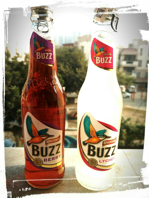 Kingfisher launches a colourful new party drink Buzz
