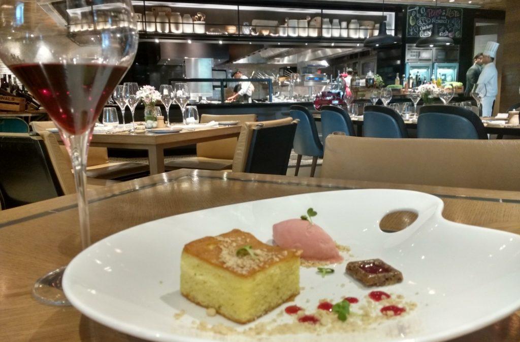 The Tantalizing Au Naturel menu at Sorrento, Shangri-La's – Eros Hotel