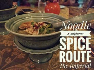 Noodle Symphony at Spice Route, The Imperial New Delhi
