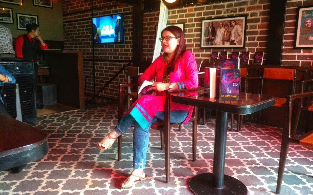 Diana's book reading session at Chatter House, Khan Market