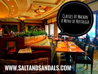 Classics at Machan: A menu of nostalgia