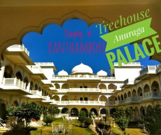 Staying in Ranthambore: Treehouse Anuraga Palace