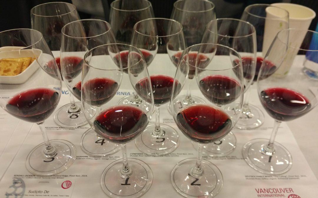 Pinot Noir from California: Vancouver International Wine Festival