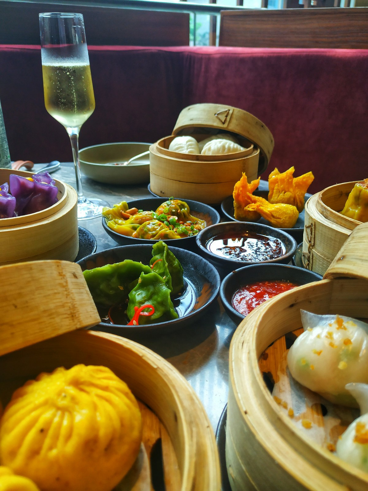 Dim Sum brunch at the Hong Kong Club, Andaz New Delhi