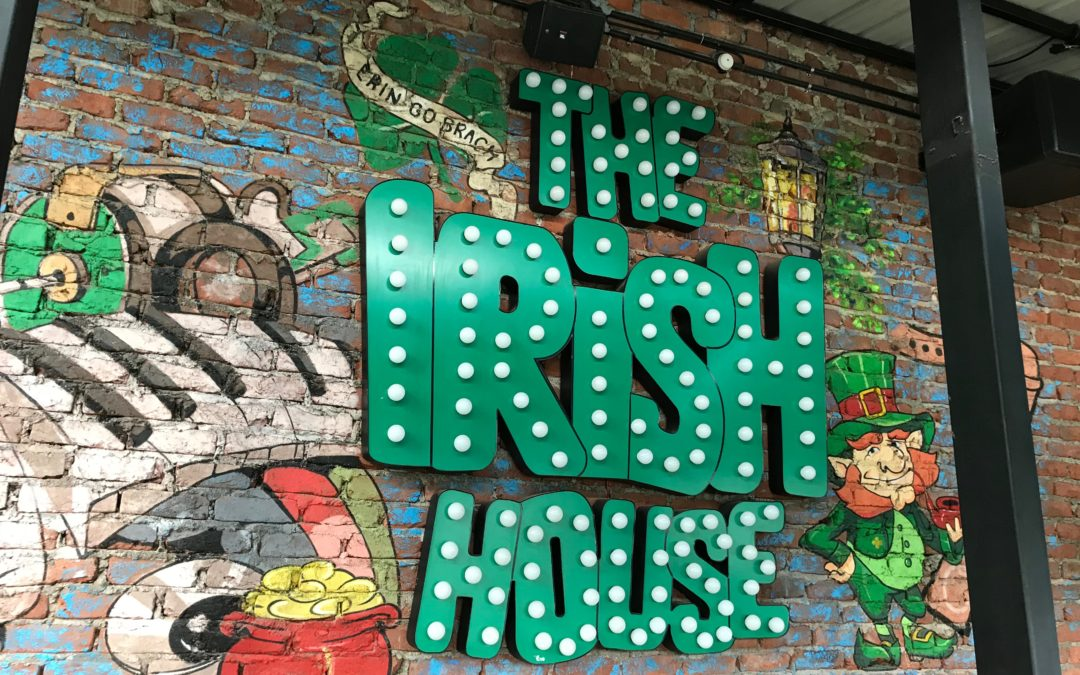 5 top picks from The Irish House food menu!!