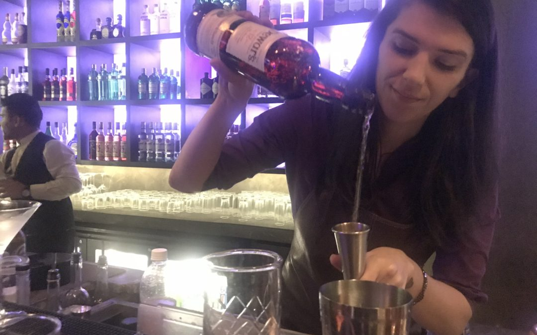 Story Club and Lounge sees Vita Vladimirski in action at Dewars Pop Up