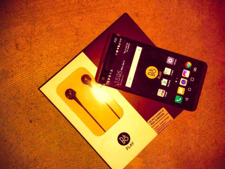 LG's new smartphone V20
