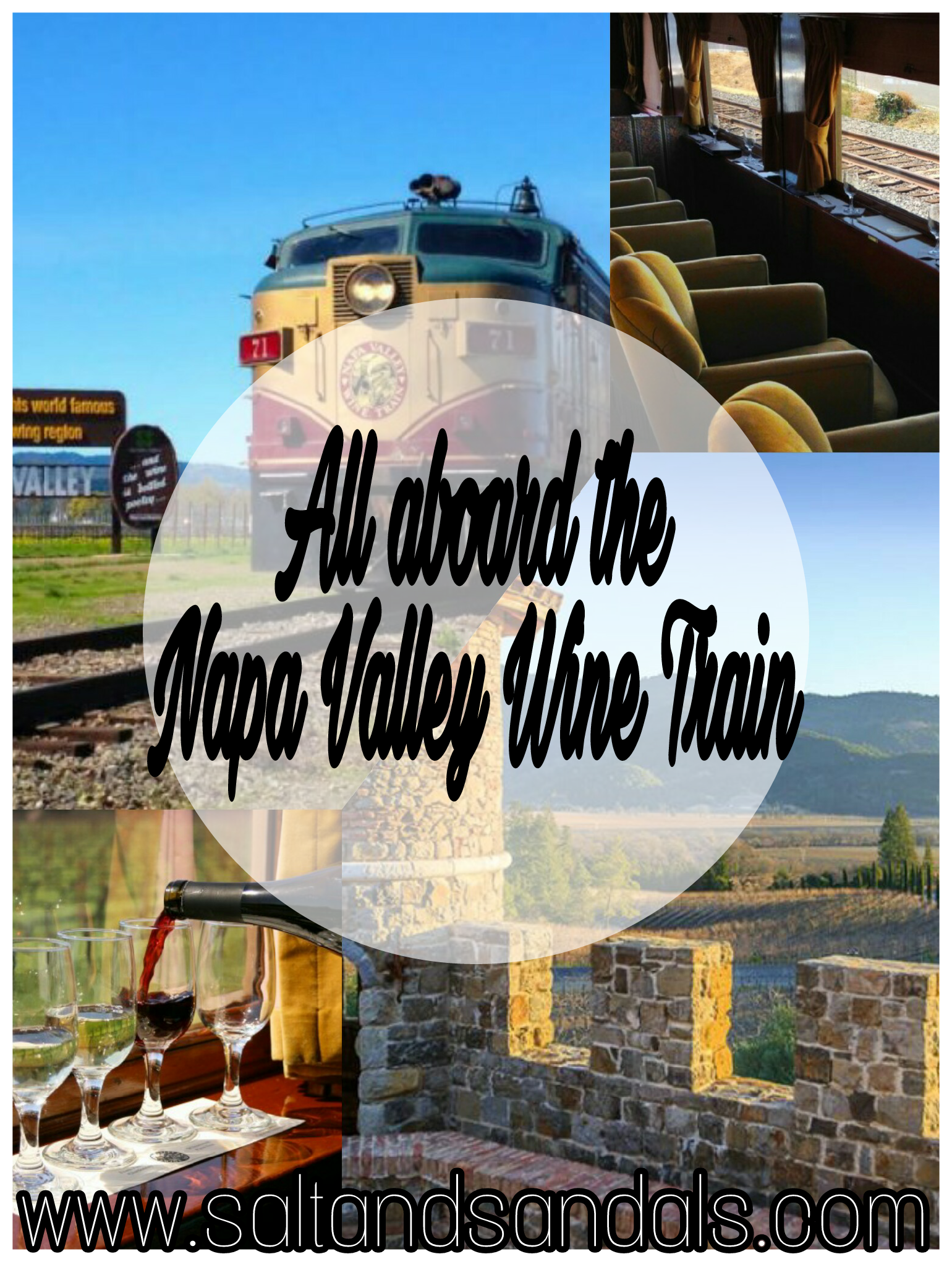 All aboard the Napa Valley Wine Train