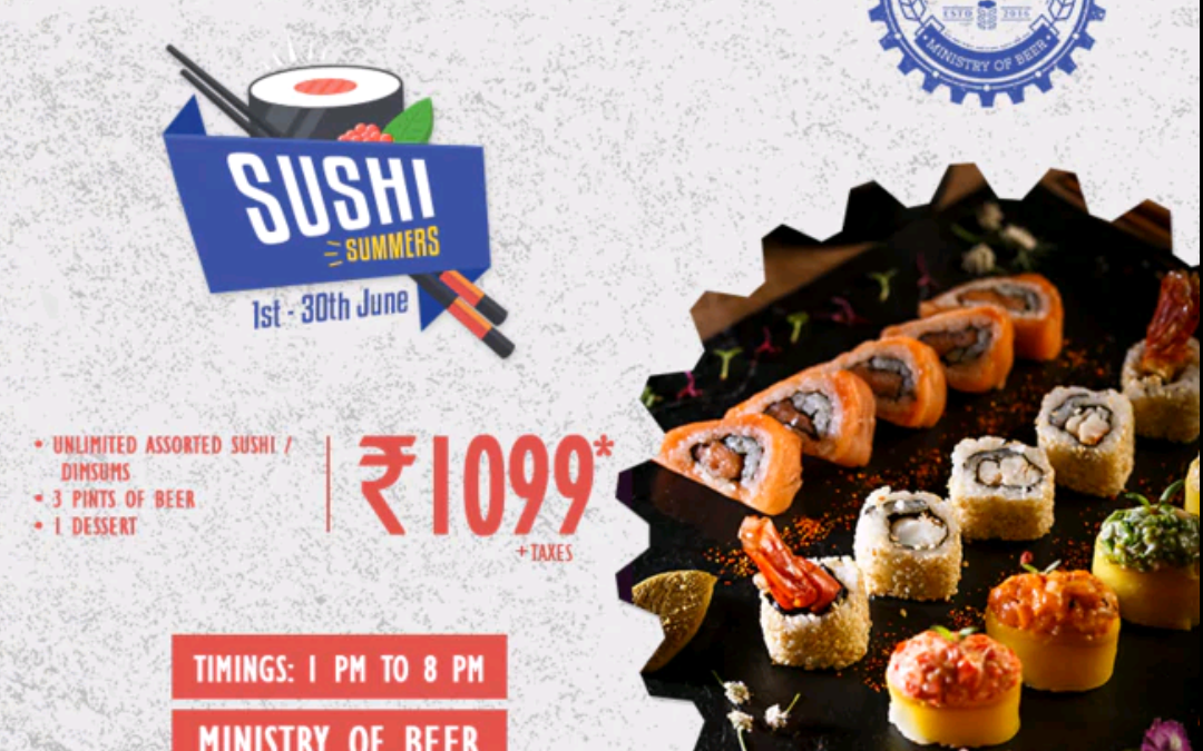 Sushi Festival: Ministry Of Beer