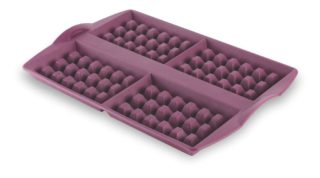 Silicone waffle moulds by Tupperware