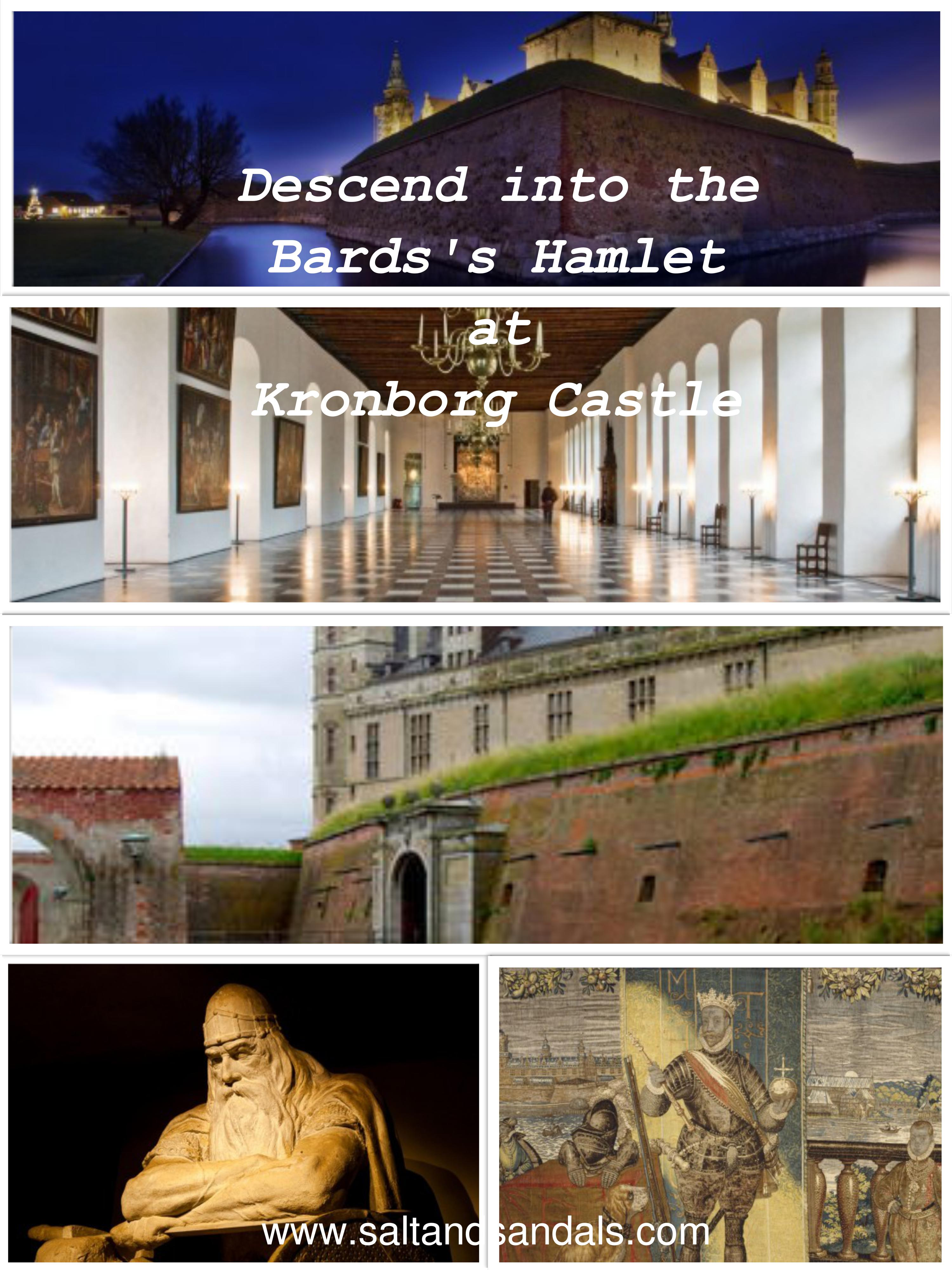 Descend into the Bard's Hamlet at Kronborg Castle, Elsinore Denmark