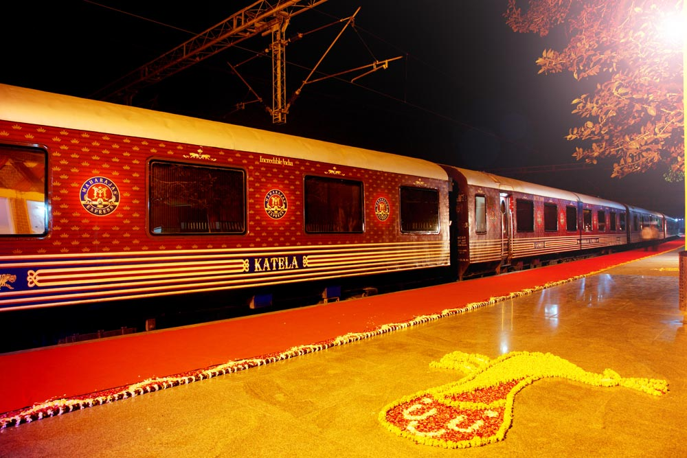 Five Best Luxury Trains in India