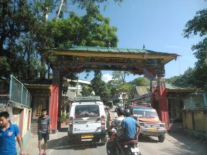 Gangtok entry checkpoint