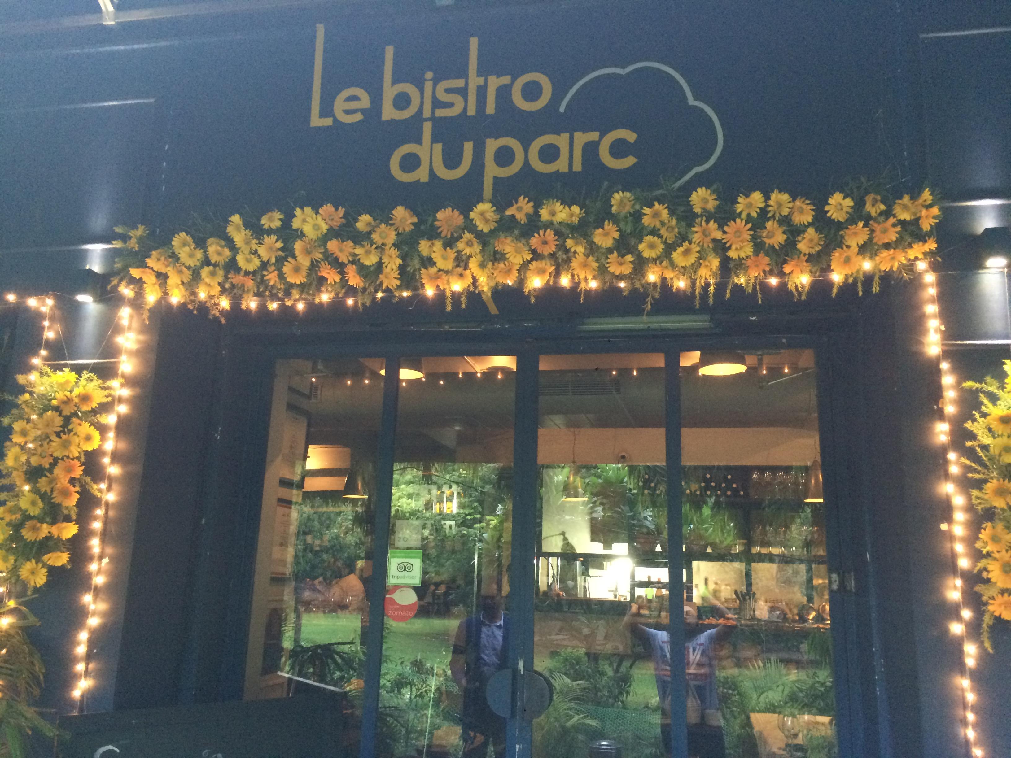 Restaurant Review : Le Bistro Du Parc