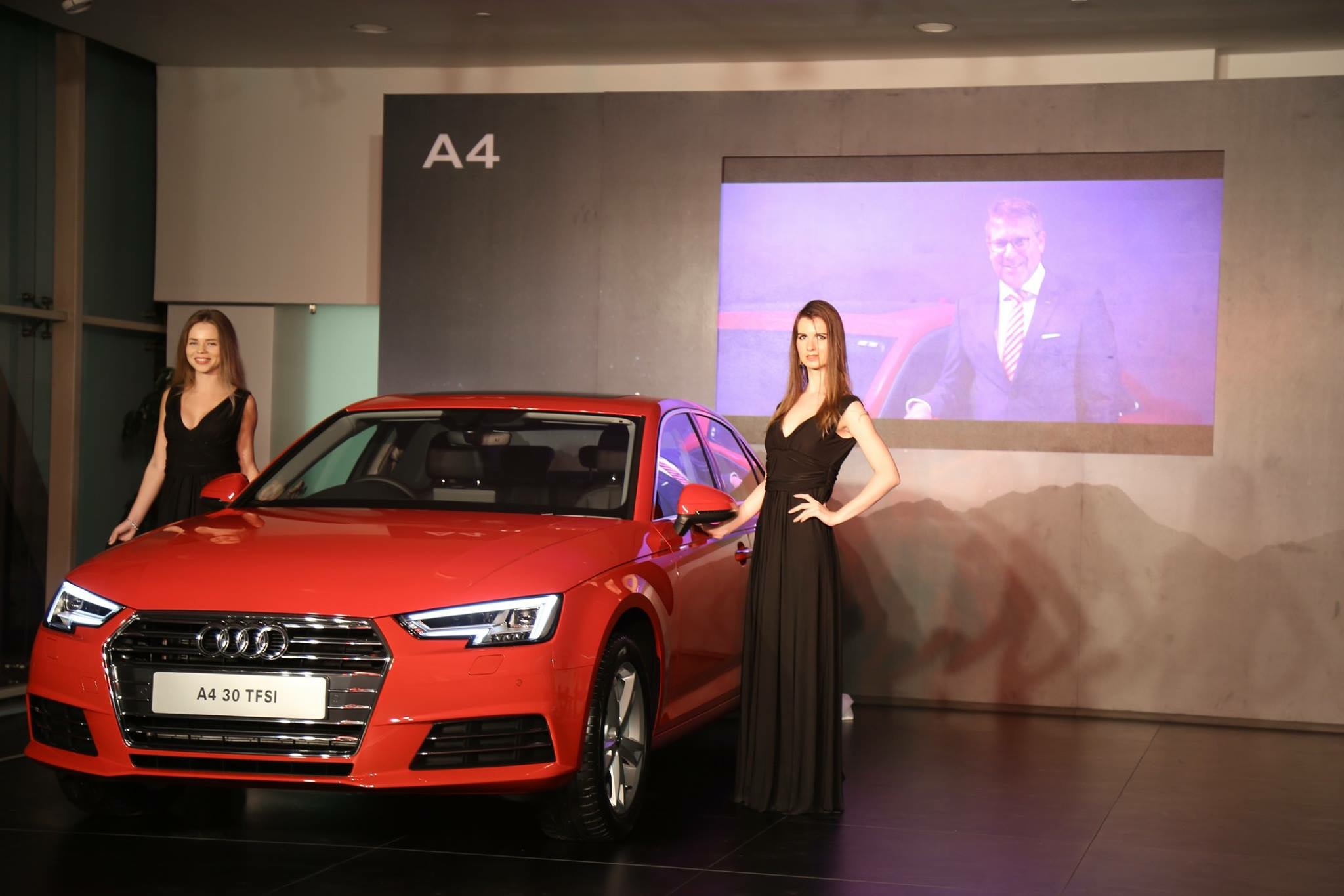 New Audi A4 at Audi Gurgaon