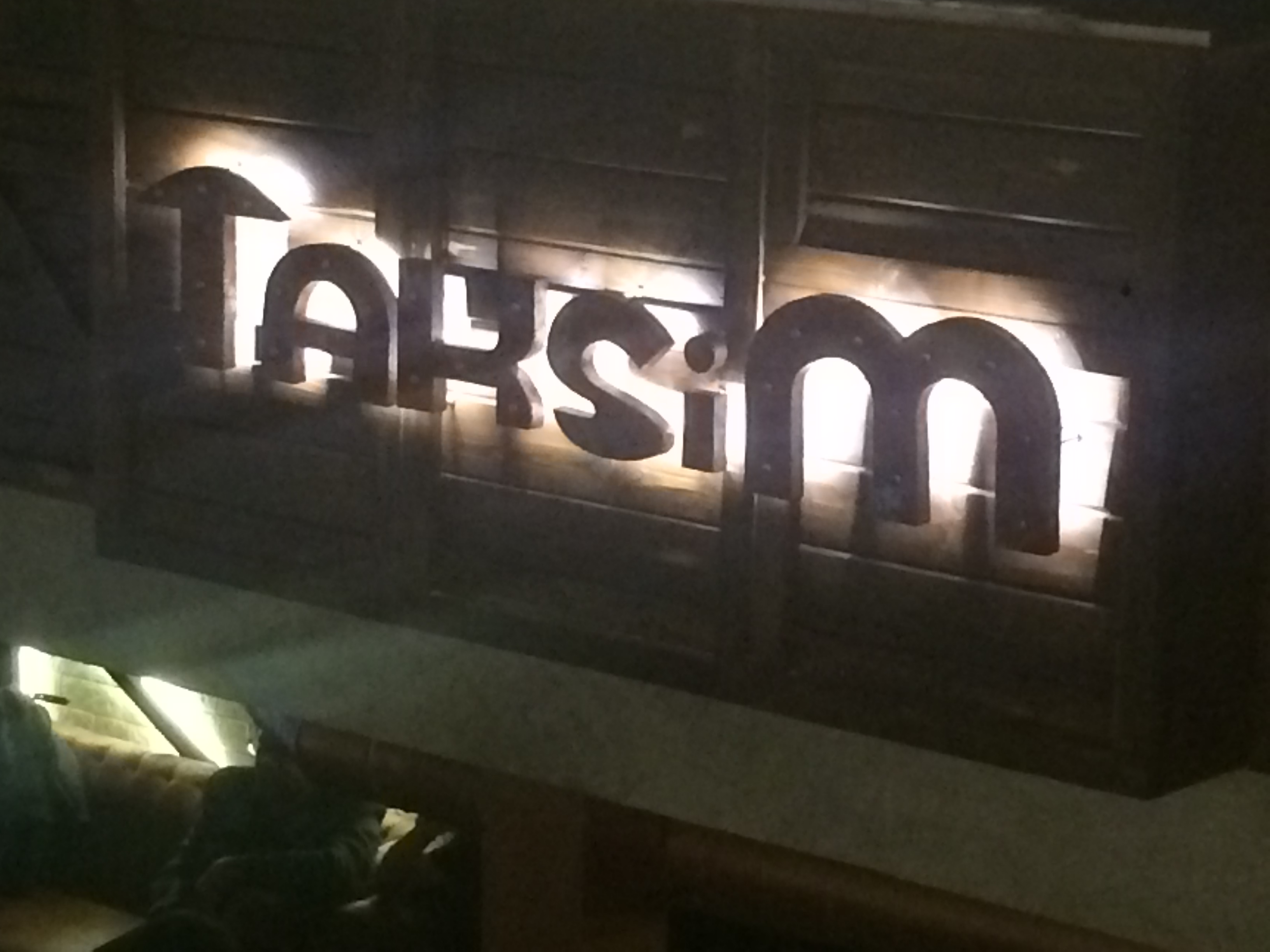 RESTAURANT REVIEW : TAKSIM, ANSAL PLAZA