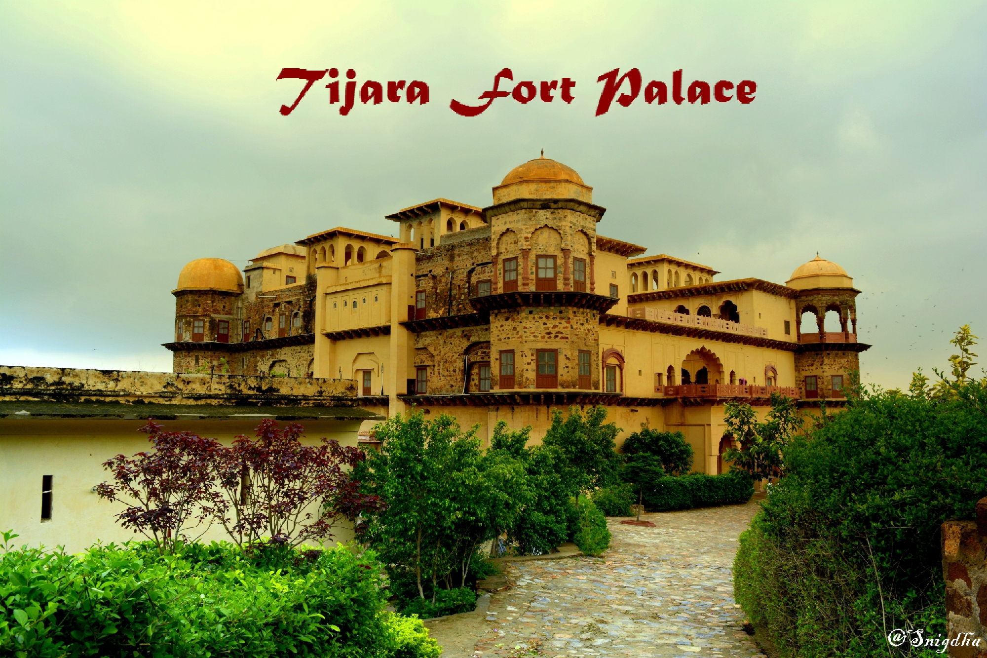 The majestic Mahals of Tijara Fort Palace