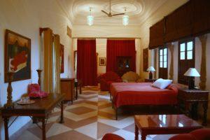 Tijara Fort Palace, Neemrana Hotels, Alwar Rajasthan